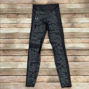 Under Armour Gray Print Compression Leggings